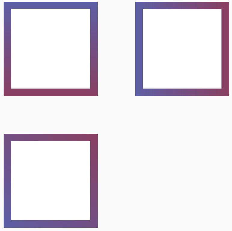 用CSS实现模块边框的渐变