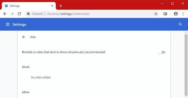谷歌发布新版Chrome 71 重点打击滥用广告网站