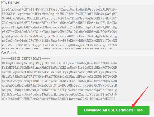 下载Let's Encrypt免费证书