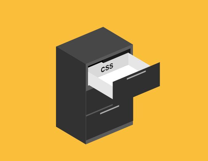 教你使用纯CSS绘制书柜抽屉效果