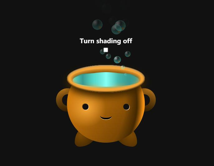 HTML5和CSS3应用:绘制小水缸,实现动画效果